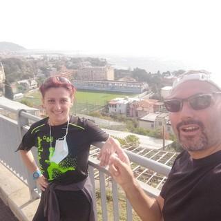 Morena Fellegara e Federico Marchi