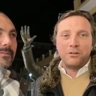 """'2 ciapetti con Federico' in formato 'On the road' con Simone Baggioli: """"In tutto il 2019 solo 3 adesioni a Forza Italia"""" (Video)"""