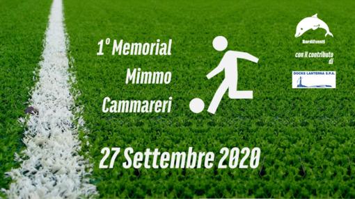 """L'Associazione BordiEventi organizzerà il 1° Memorial in ricordo di """"Mimmo Cammareri"""": torneo di calcio a 5 che si terrà il 27 Settembre 2020 al campo da calcio delle Due Strade"""