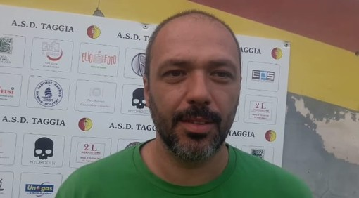 Cristian Maiano, allenatore del Taggia