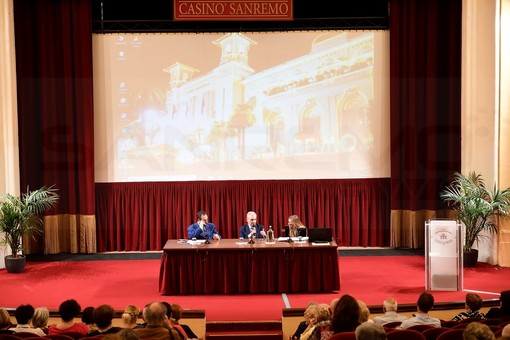 Sanremo: ieri la presentazione dell'ultimo saggio di Domenico Vecchioni ai 'Martedì Letterari' (Foto)