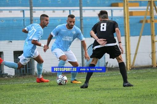 Marco Spinosa, centrocampista della Sanremese