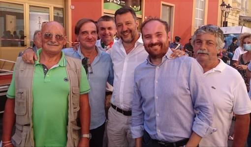 """Ventimiglia: foto con Salvini e """"Qualche idea per il futuro"""", ritorno in Lega per i sanremesi Lupi e Del Sole?"""