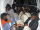35 immigrati clandestini stipati in furgone partito dall'Italia e fermato sull'autostrada a La Turbie