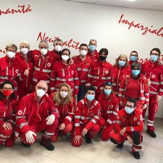 Al termine dell'esame di ieri la Croce Rossa di Sanremo ha 13 nuovi volontari per il trasporto sanitario