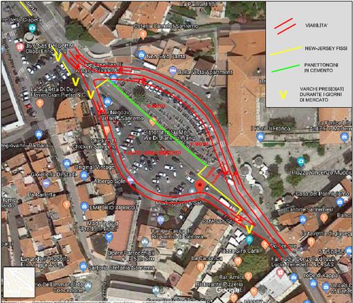 Sanremo: una nostra lettrice ci scrive per dire la sua sul rifacimento della viabilità in piazza Eroi