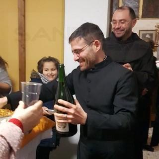 Bordighera: la Parrocchia Madonna dei Fiori ha accolto sabato Don Salvatore Albano (Foto e Video)