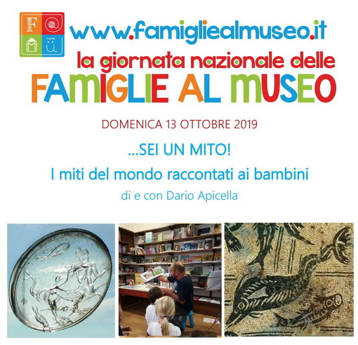 Ventimiglia: domenica prossima, Giornata Nazionale delle Famiglie al Museo civico 'Girolamo Rossi'