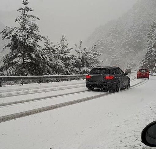 Scatta l'allerta meteo per neve: sulla nostra provincia saranno interessate le zone dell'entroterra