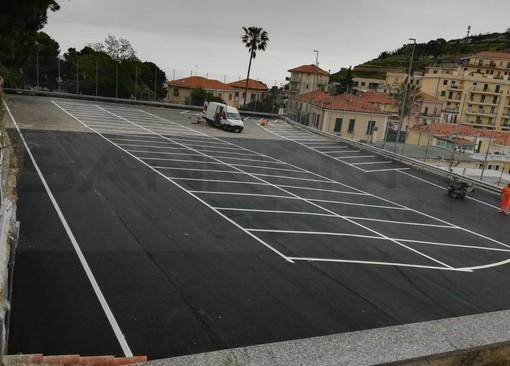 Sanremo: ultimati i lavori per il parcheggio dell'ex campetto di Poggio, da domani 90 posti a disposizione