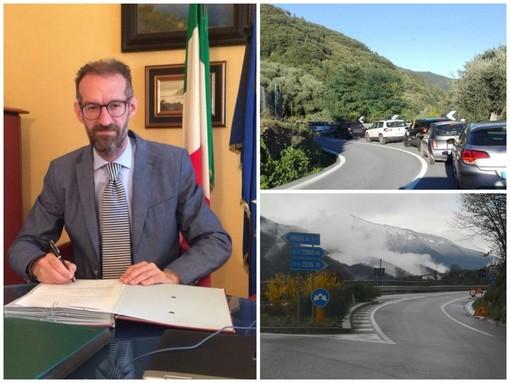 """Pieve di Teco, il presidente provinciale Natta interviene sui disagi della 28: """"Anas dialoghi e sia una presenza costante sul territorio"""""""