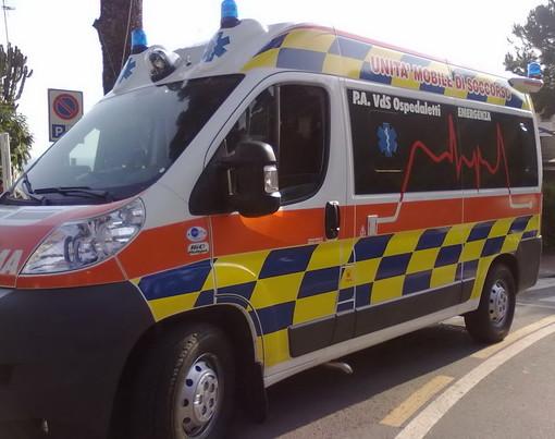 Ospedaletti: investimento pedonale stamattina in corso Regina Margherita, 77enne portata in ospedale