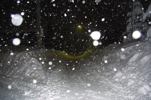 Maltempo: terminata l'allerta con pioggia tra 30 e 70 mm, neve a Verdeggia, Monesi, Nava e sulle Statali 20 e 28 (Foto)