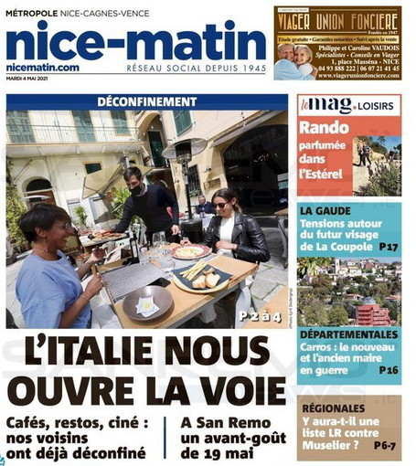 Reportage di 'Nice Matin' a Sanremo: un ottimo 'spot' per la città dei fiori in attesa della riapertura dei confini