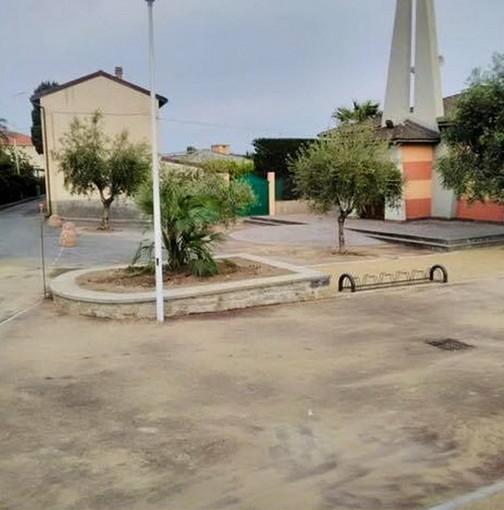 Riva Ligure: il Sindaco annuncia l'apertura del parcheggio vicino alla Chiesa della Resurrezione (Foto)