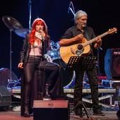 Phil Palmer sul palco di Sanremo Rock&Trend
