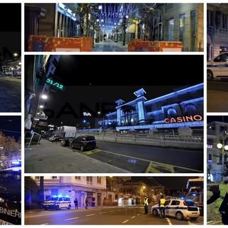 Notte di Capodanno fatta di controlli delle forze dell'ordine in città dal panorama surreale: nessun intervento di 118 e Vigili del Fuoco (Foto e Video)
