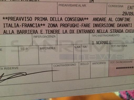 Ventimiglia: il paradosso del presidio 'No Border', se inviate un pacco a 'Piazzale de Gasperi, Zona Profughi' arriva regolarmente!