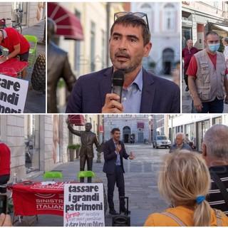 """Nicola Fratoianni a Sanremo e Ventimiglia: sui flussi migratori """"Non è emergenza ma bisogna alleggerire il peso sulla città"""""""