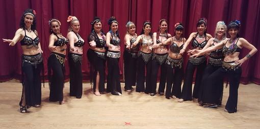 """Molini di Triora: le danze delle Nadija's Oriental Dancers protagonista ad Andagna per """"E Lizzette de San Zane"""""""