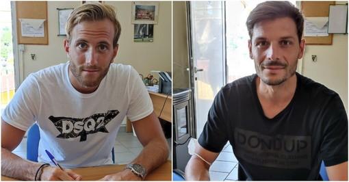 Calcio: due nuovi acquisti all'Imperia, in nerazzurro approdano Nicholas Mara e Luigi Castaldo