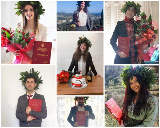 Con l'uso della teleconferenza da ieri la provincia di Imperia conta su 8 nuovi laureati in Infermieristica (Foto)
