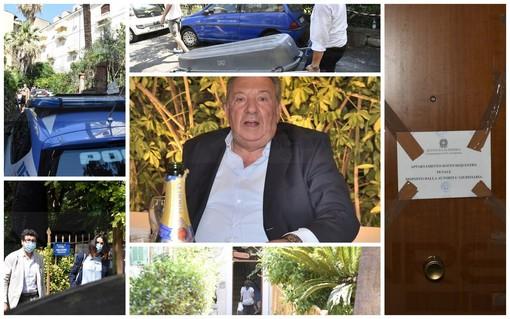 Sanremo: omicidio di Luciano Amoretti, terminate le operazioni della scientifica e proseguono le indagini (Foto e Video)