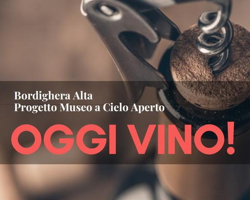 Bordighera: il 7 dicembre nell'ambito del 'Museo a cielo aperto' festa nella città con 'Oggi vino!'