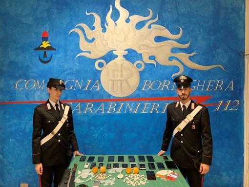 Ospedaletti: i dettagli dell'operazione antidroga dei Carabinieri che ha portato all'arresto di sei persone