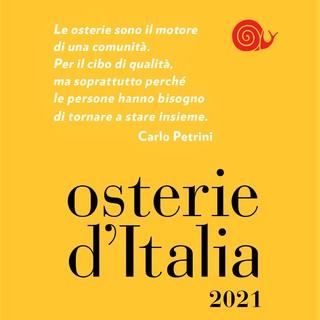 Disponibile da oggi in libreria la nuova Guida alle Osterie d'Italia di Slow Food