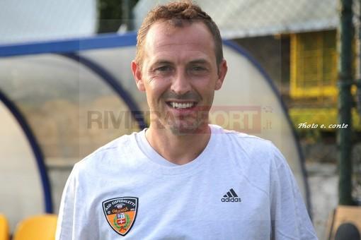Andrea Moraglia, centrocampista dell'Ospedaletti