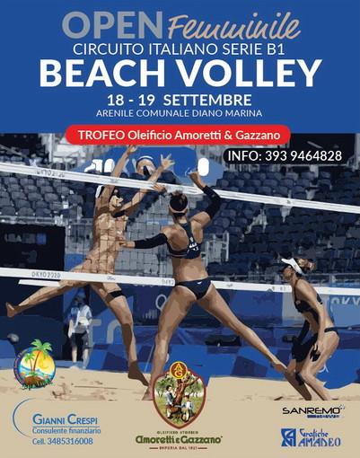 Diano Marina: nel prossimo weekend torna il grande beach volley femminile con il trofeo 'Amoretti e Gazzano'