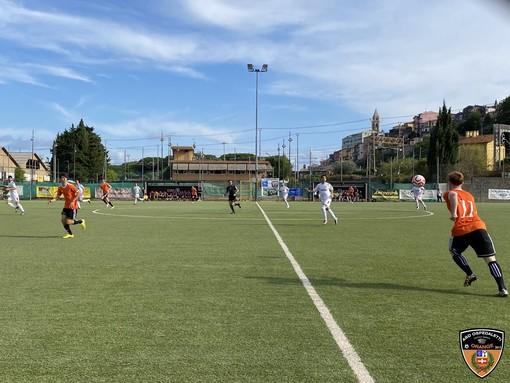 Il derby della scorsa giornata tra Ventimiglia e Ospedaletti