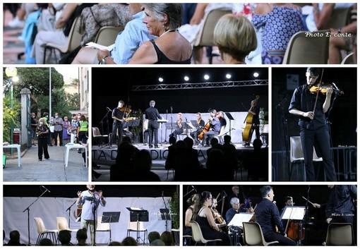 Bordighera: nel rispetto delle normative anti Covid, tutto esaurito ieri ai Giardini Lowe per la Sinfonica (Foto)