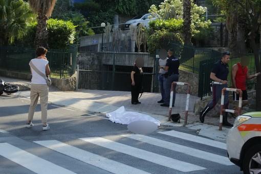 Sanremo: omicidio in strada, ucciso nel tardo pomeriggio un 62enne in via Padre Semeria (Foto e Video)