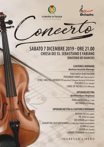 """Taggia: sabato concerto con l'OpenOrchestra ed il coro """"Cantores Bormani"""""""