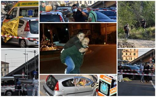 Ventimiglia: ieri pomeriggio l'omicidio-suicidio alle Gianchette, oggi scattano gli interrogativi su quanto è successo (Foto e Video)