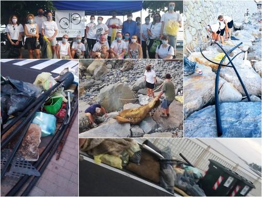 """Le immagini della """"Plastic Hunt"""" in provincia"""