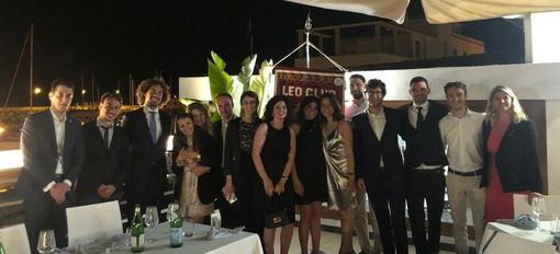 Domenica scorsa alla Canottieri Sanremo il tradizionale evento di passaggio delle cariche del Leo Club Sanremo