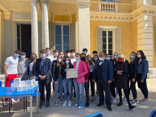 Sanremo: seconda A della scuola Nobel e quarta F del 'Cassini' premiati per la 'Nobel week 2021' (Foto)