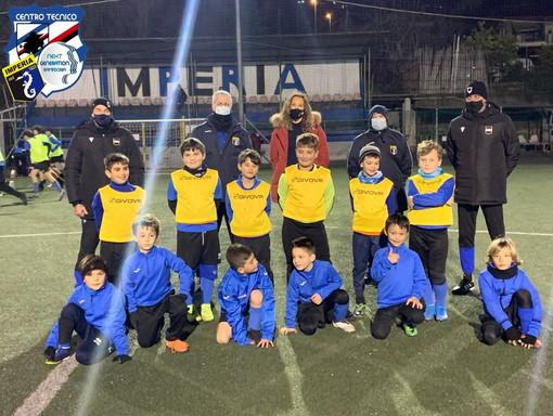 Calcio giovanile: doppia seduta per i calciatori dell'Imperia nell'ambito del progetto 'Next generation' con la Sampdoria