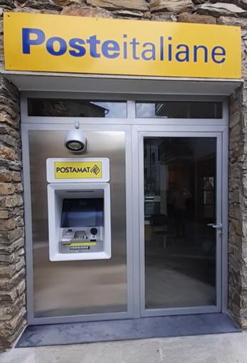 Poste Italiane: a Ceriana e Montegrosso Pian Latte Il nuovo Atm Postamat per l'ufficio postale
