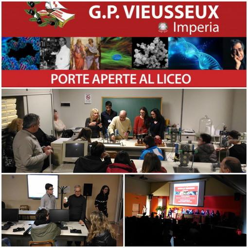 Imperia: domani l'appuntamento per gli studenti con l'Open Day al Liceo Viesseux con docenti e alunni