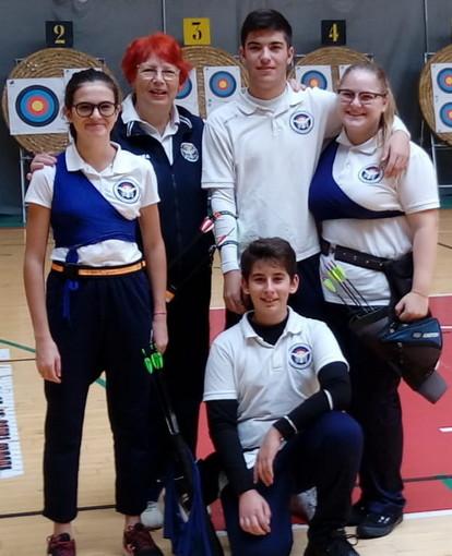 Tiro con l'Arco: ottimi risultati per gli atleti dell'Archery Club Ventimiglia ieri a Genova (Foto)