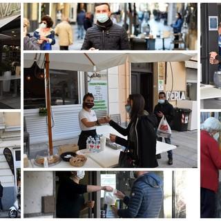 Sanremo: primo giorno in 'arancione' e via all'asporto nei bar, intanto confermato l'arrivo dei 'ristori' dal Governo (Foto e Video)
