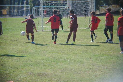 Amichevole tra Esordienti 2010 della Polisportiva Vallecrosia Academy e l'Ospedaletti Calcio