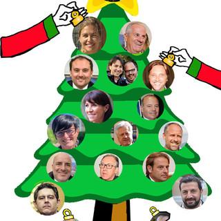 Buon Natale con i big della politica ponentina