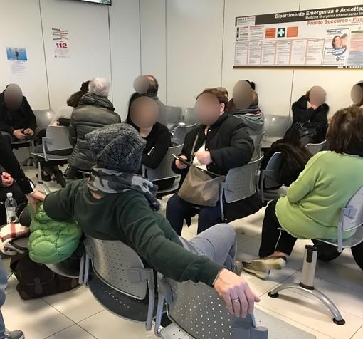 Influenza quasi al picco massimo in provincia di Imperia: Pronto Soccorso degli ospedali in difficoltà
