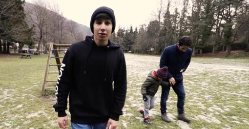 Paolo Martini nel videoclip di 'Emozioni Potenti'