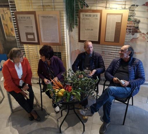Sanremo: presentato oggi sulla piazzetta dei diritti il nuovo libro di Renato Bergonzi (Foto)